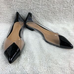 NWOT Schutz Ladies Semi Transparent Chic Flats